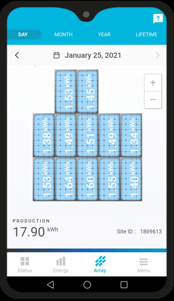 RMS technology Solar mobile app