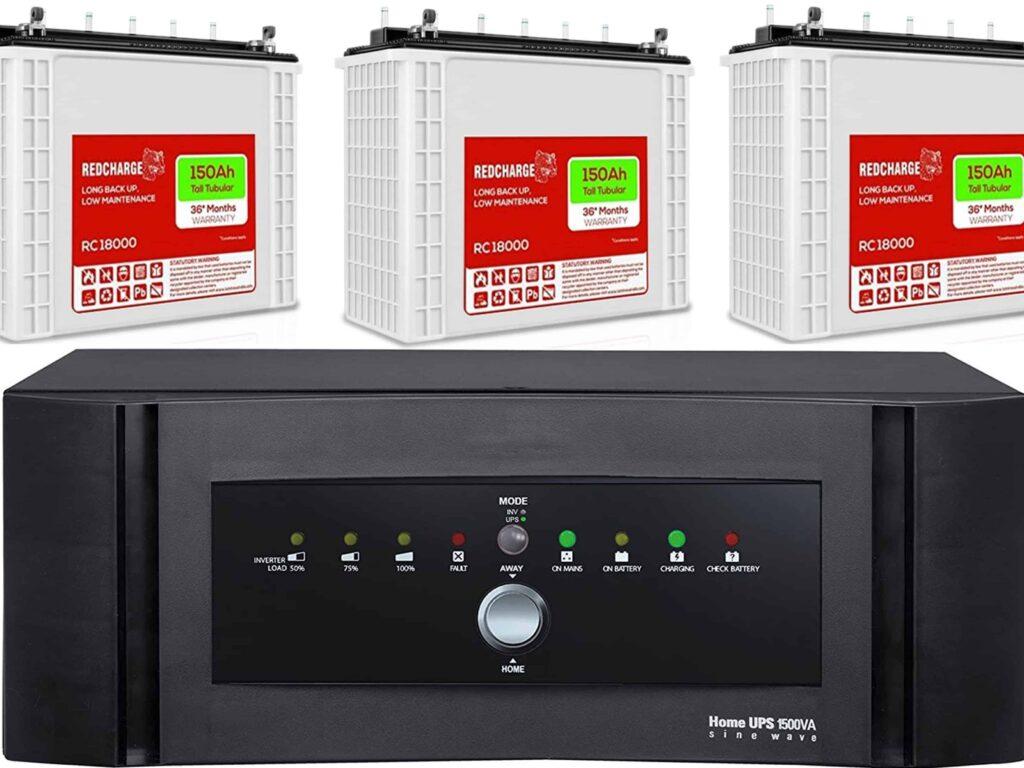 Solar Inverter Battery for house