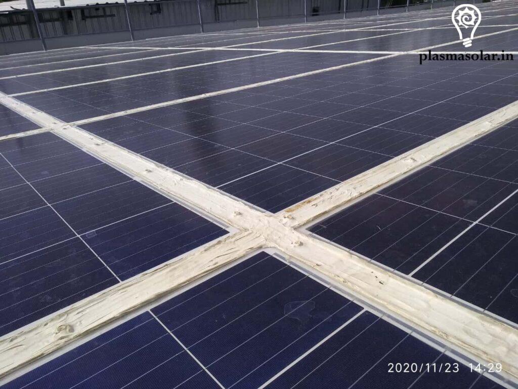 Solar Green building Roof
