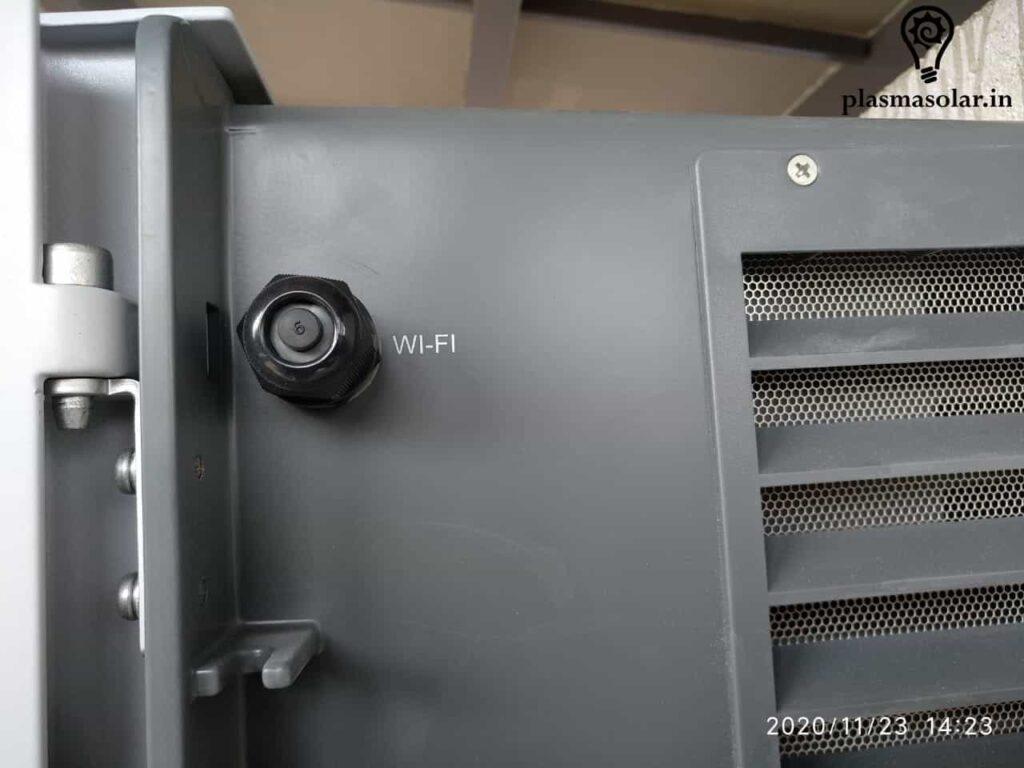 Solar Inverter Wi-Fi Internet Connectivity