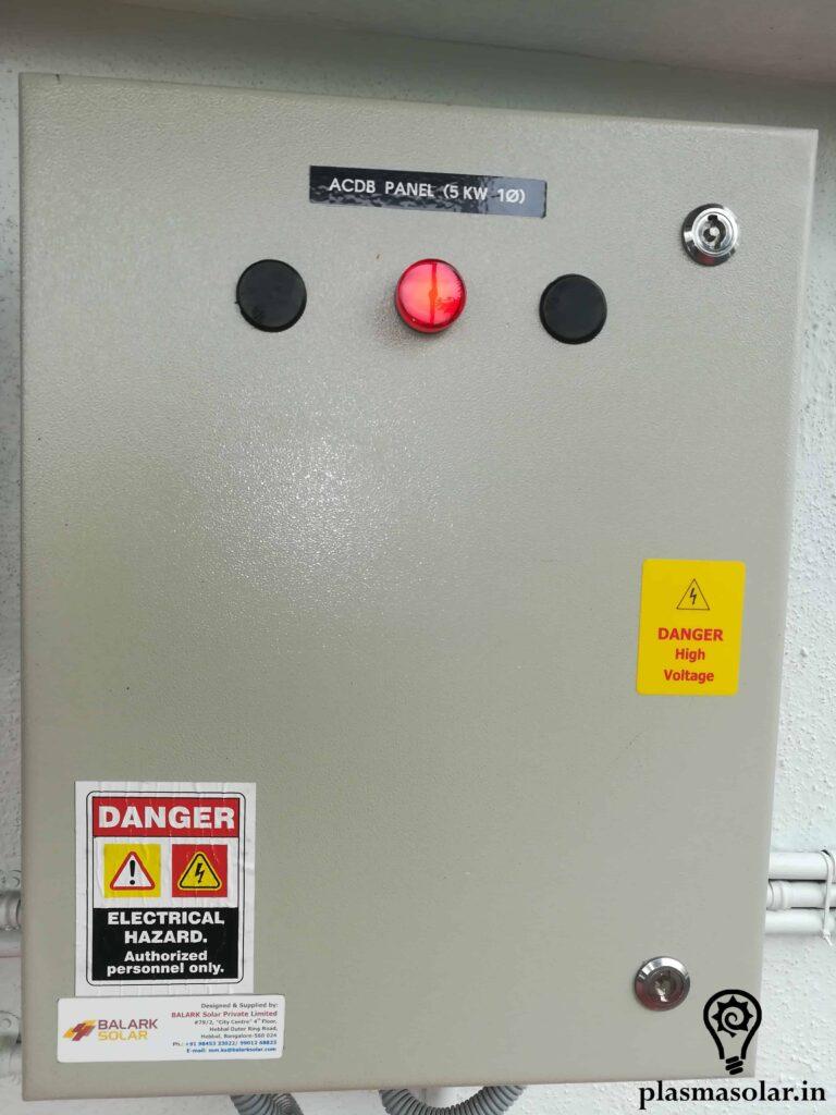 ac junction box solar