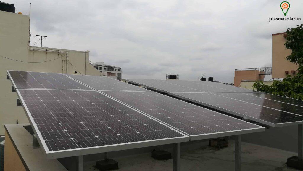 bengaluru solar electricity