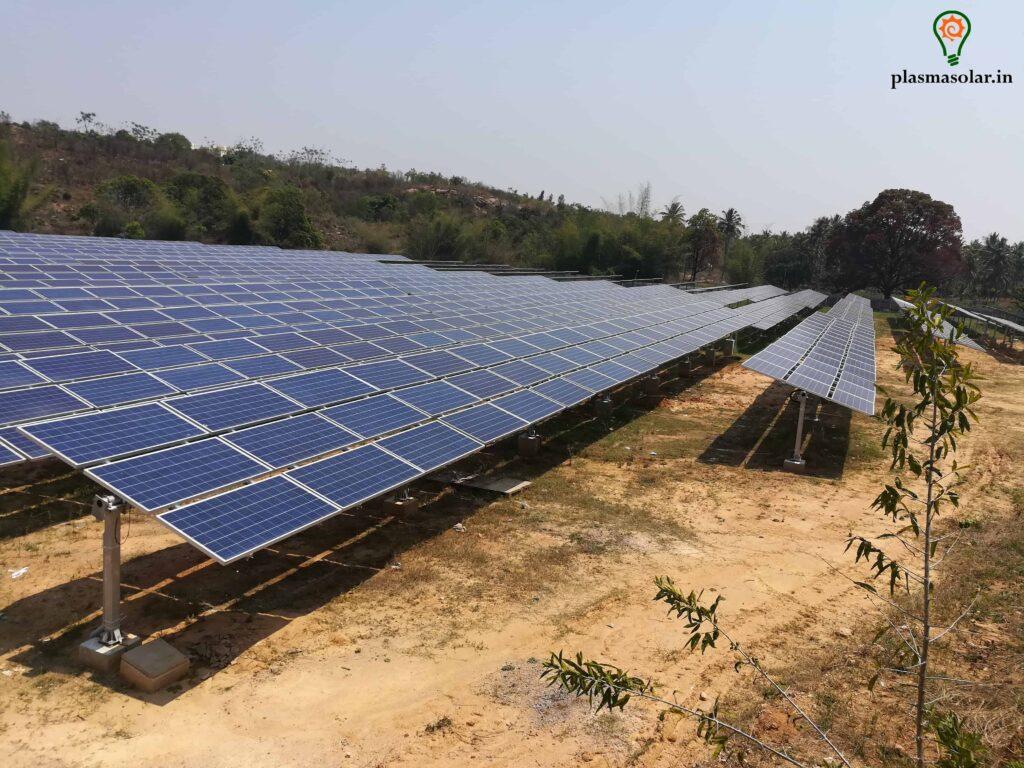 solar plant installation cost