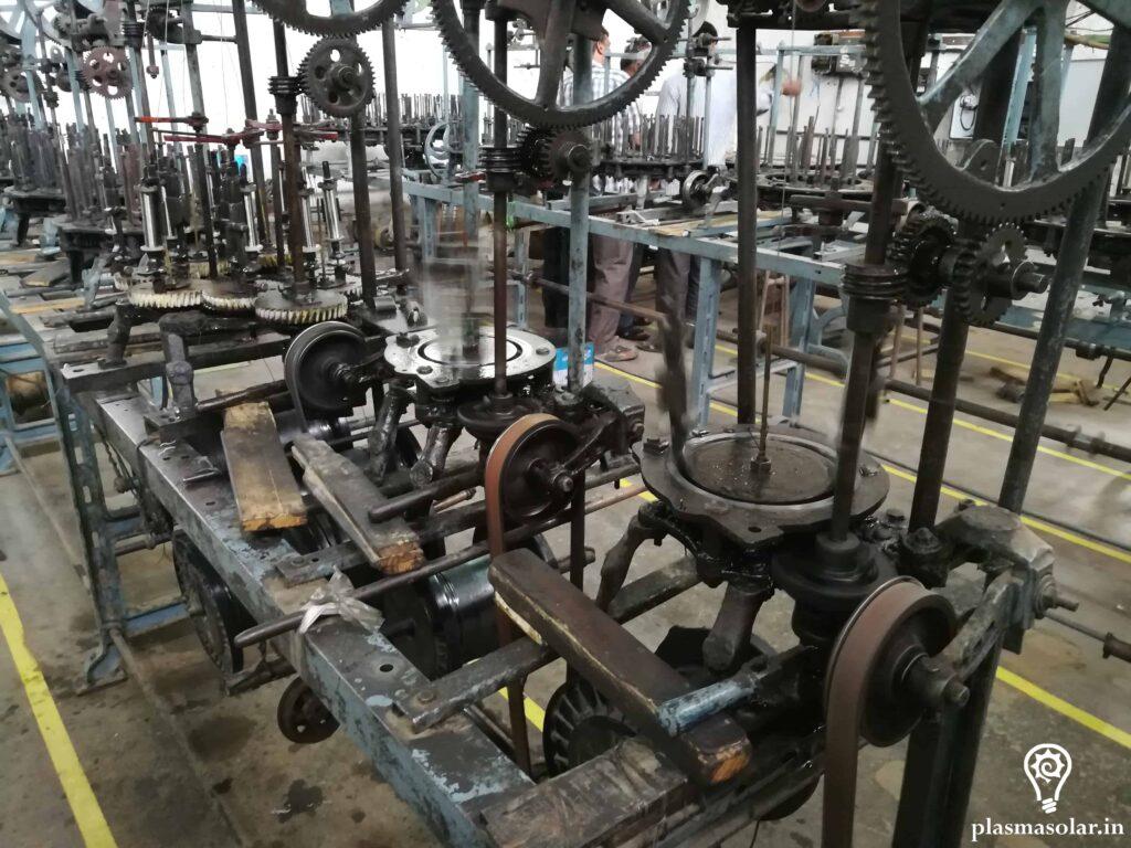industrial machines run on solar