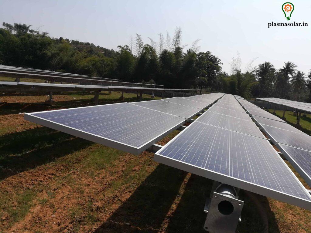 solar power plant company in india