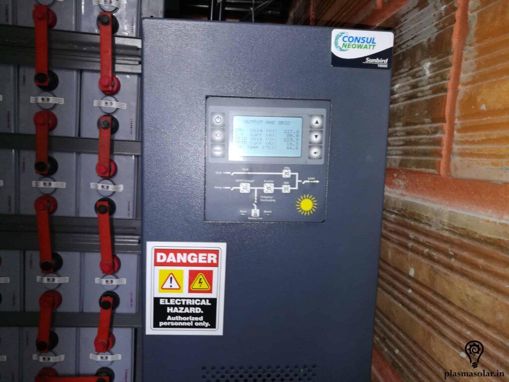solar batteries grid storage