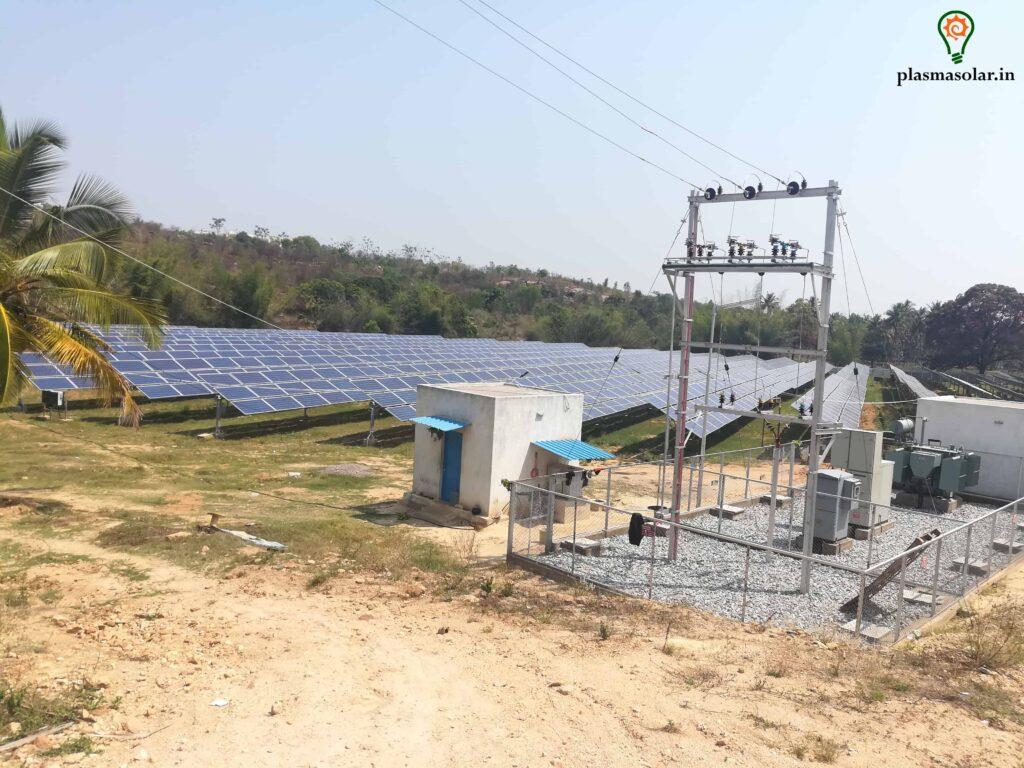 solar power plants companies in india